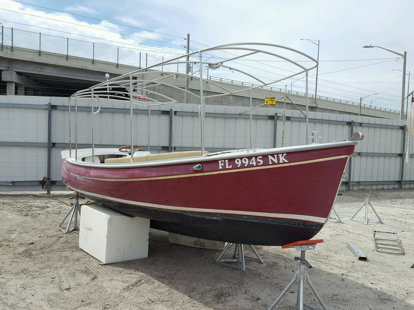 Salvage 2006 Duff BOAT for sale
