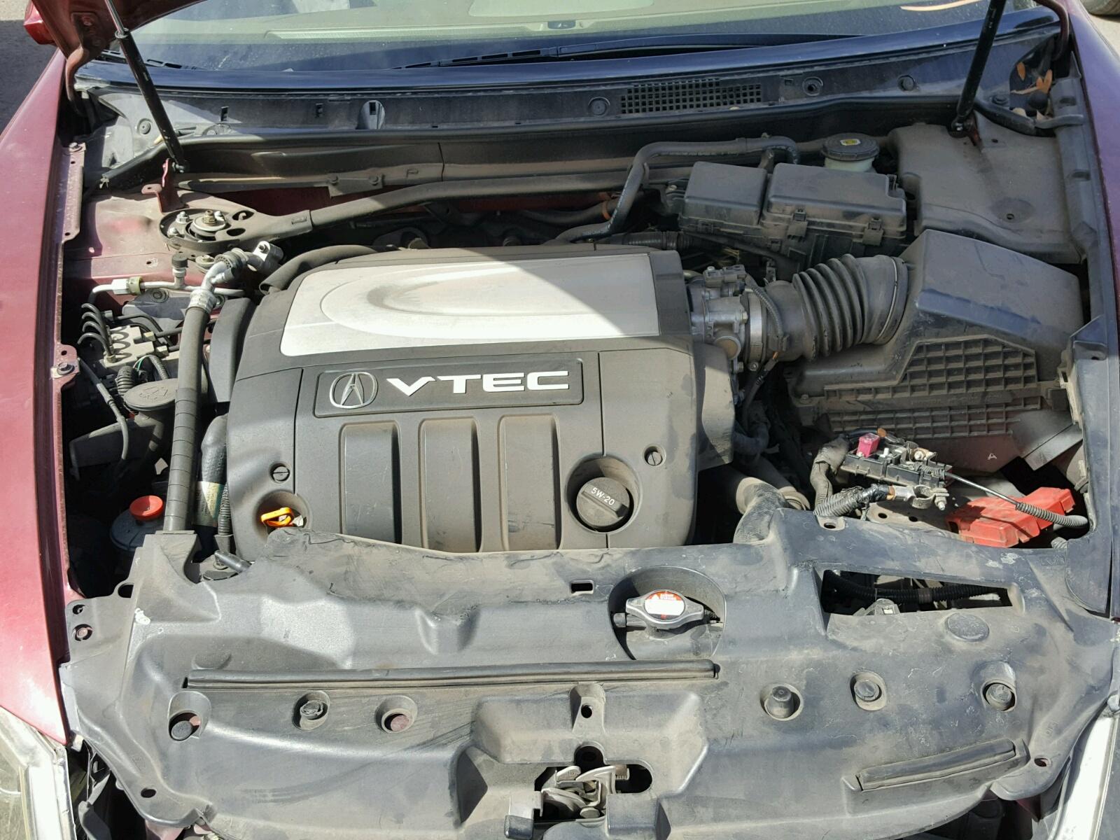 JHKBC RED ACURA RL On Sale In AZ PHOENIX Lot - 2005 acura rl engine