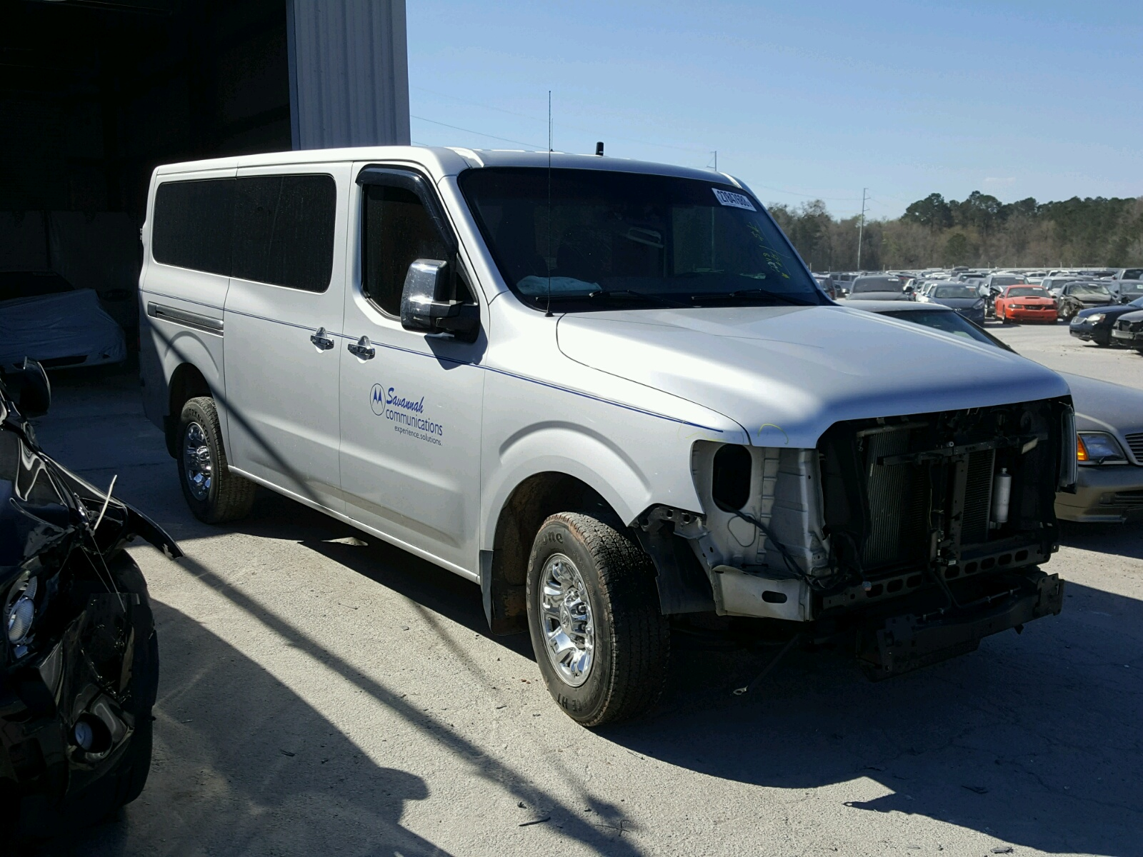 Auto Auction Ended on VIN 5BZBF0AA0CN 2012 NISSAN NV 3500 in