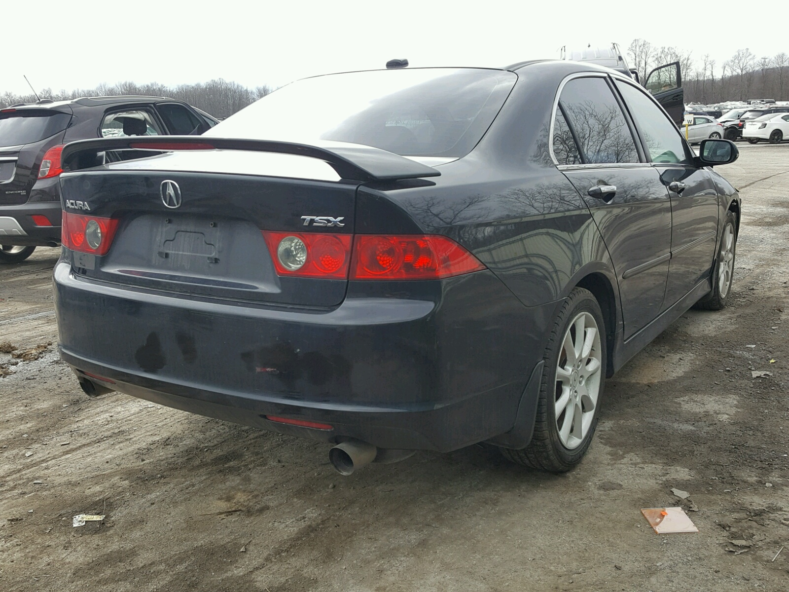 JH4CL96837C016187 | 2007 BLACK ACURA TSX on Sale in PA - PITTSBURGH on