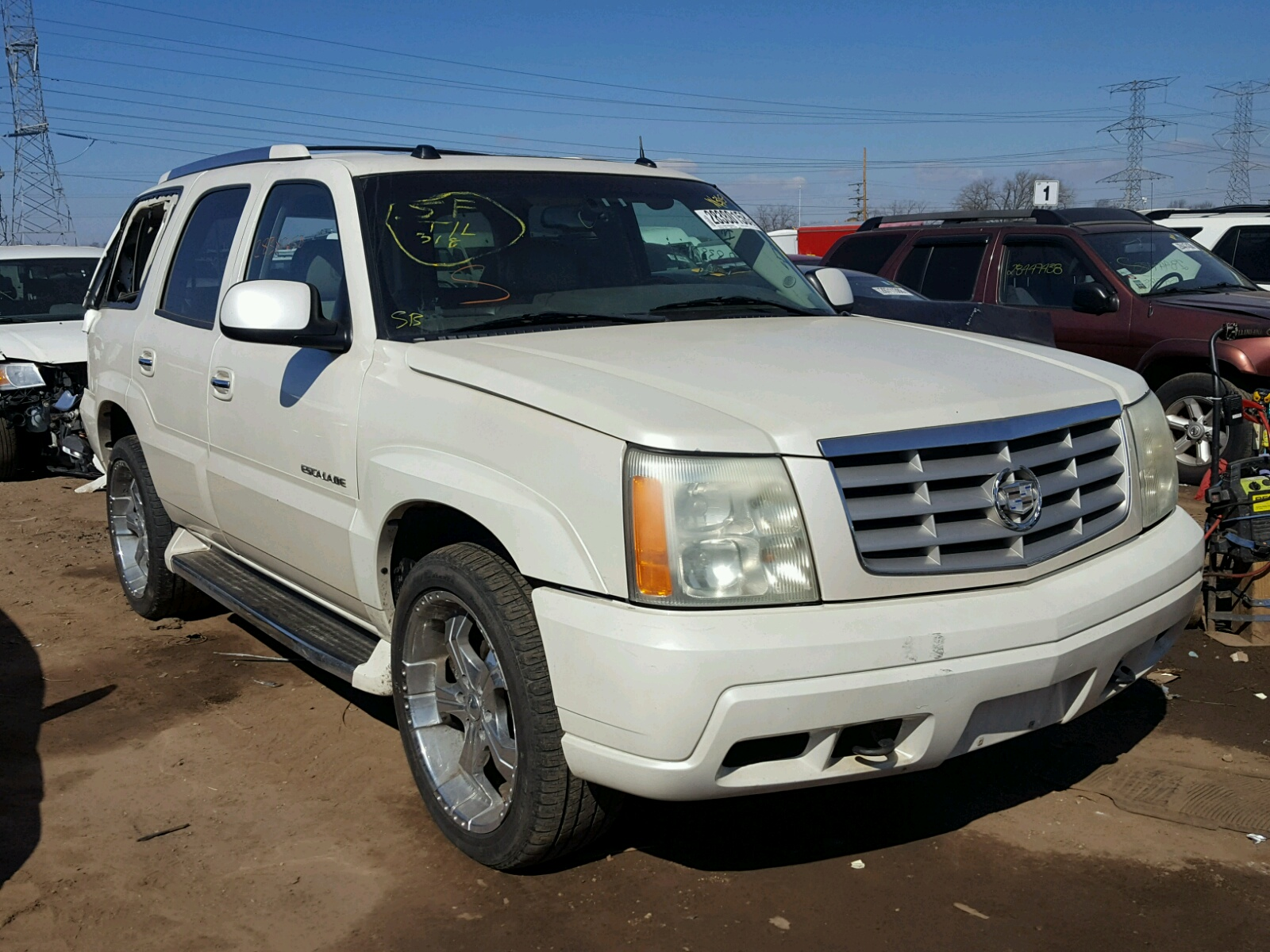 of copart salvage auto columbia cadillac sc sale left in l cert lot carfinder online escalade black en for on view title auctions