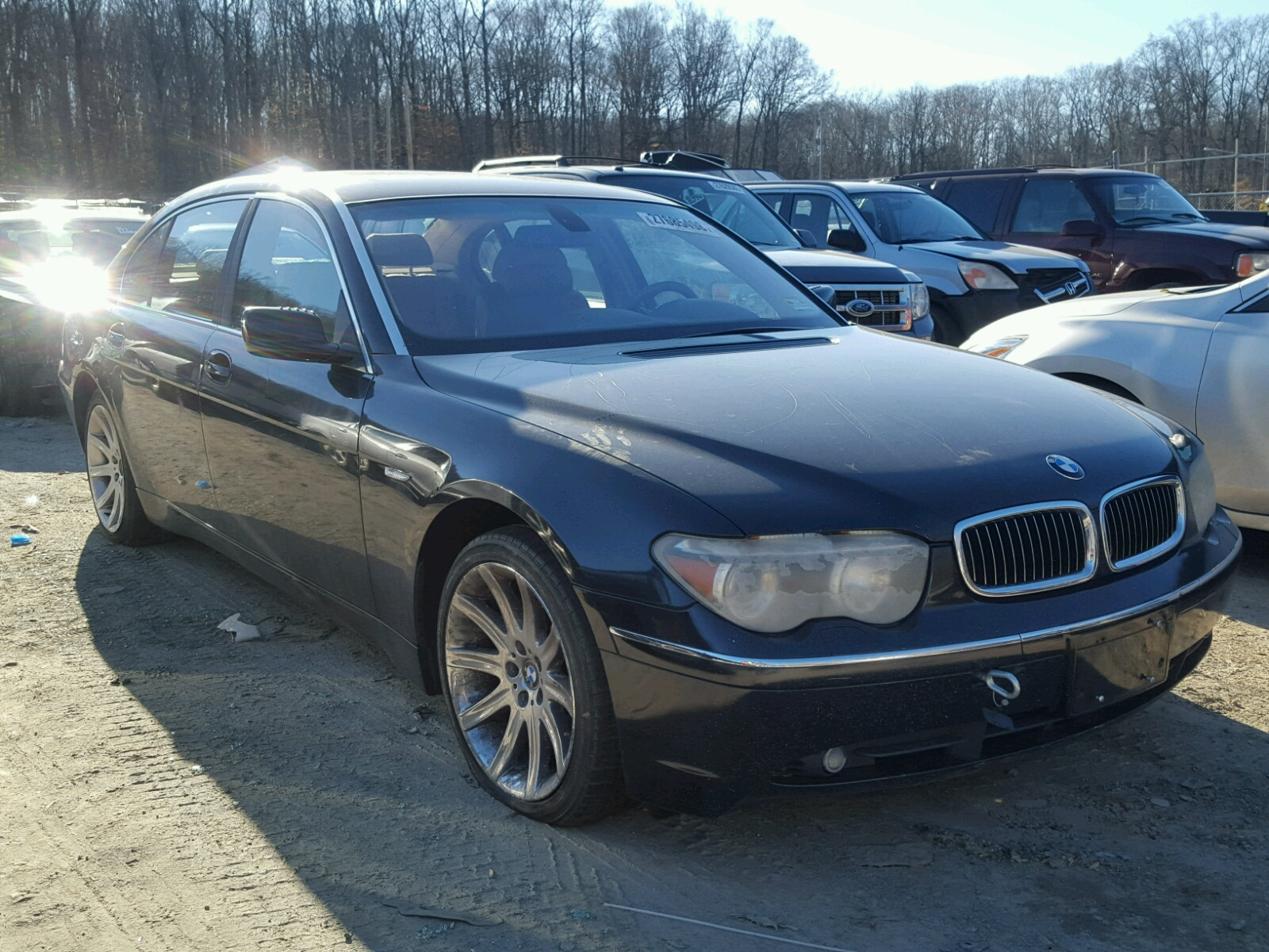 Auto Auction Ended On Vin Wbagn63494ds47000 2004 Bmw 745