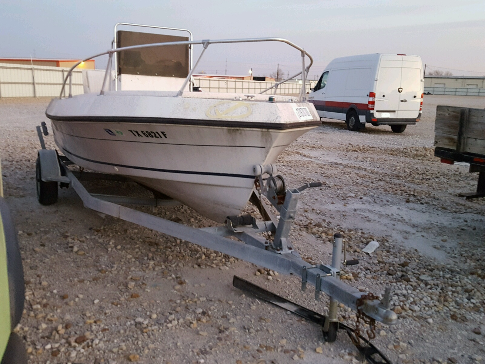 Salvage 1992 Hori BOAT for sale