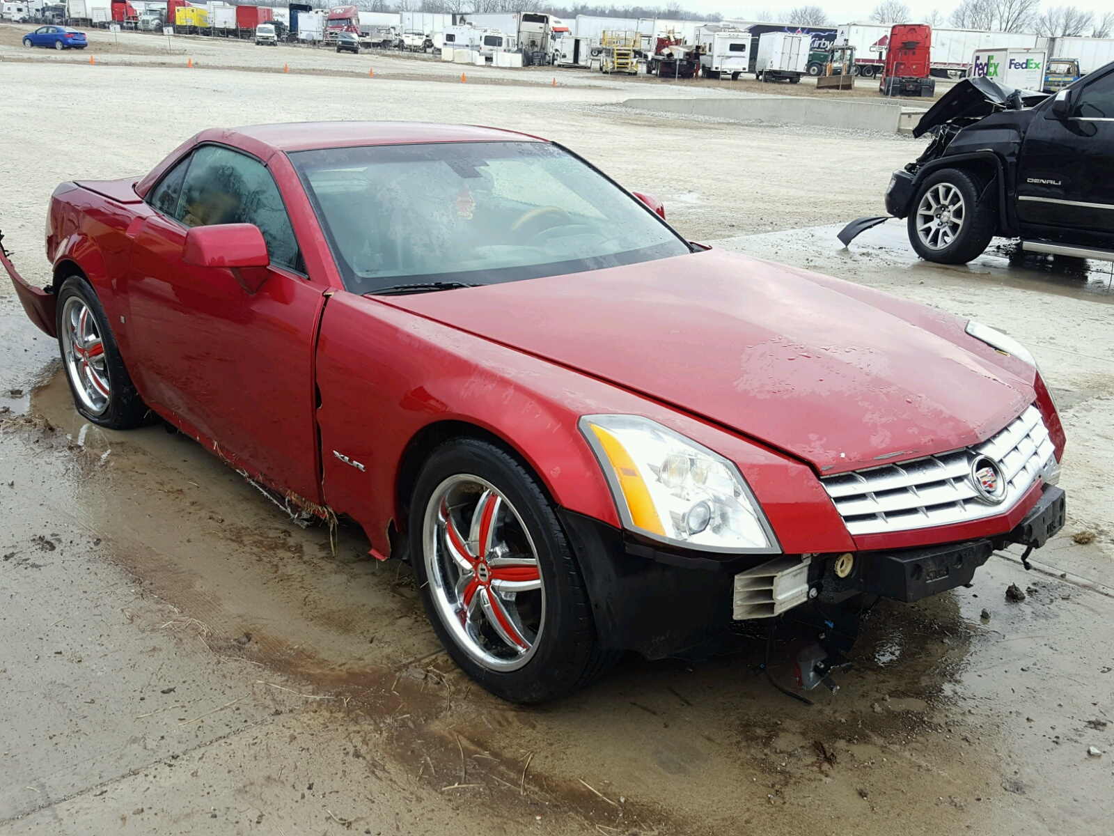 at indianapolis sale copart cadillac in cars lot for xlr