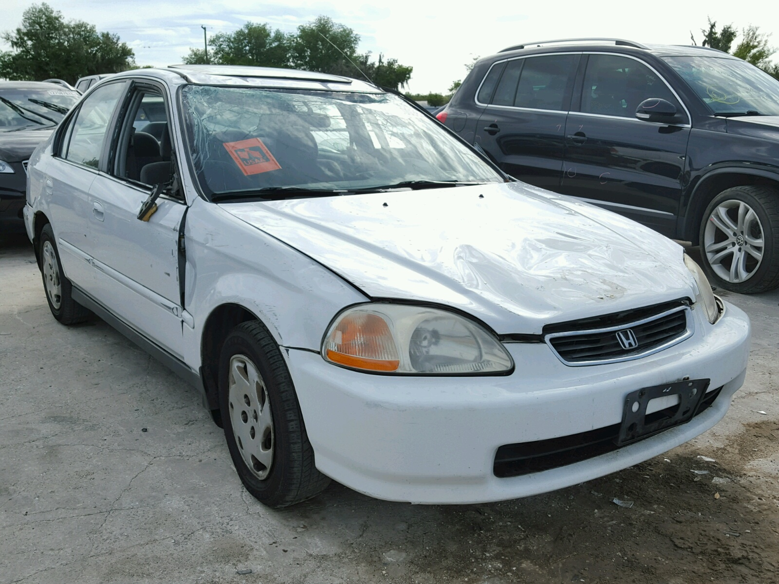 ... 1997 Honda Civic EX photo 2 ...