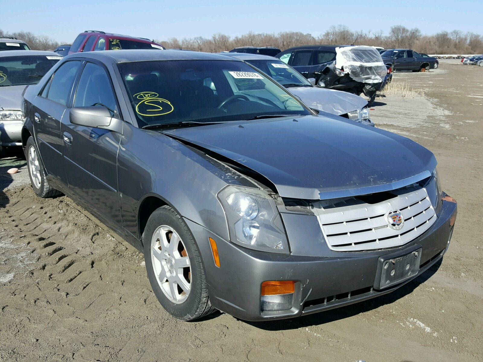 miles reg cts no automatic reserve cadillac sale rhd for