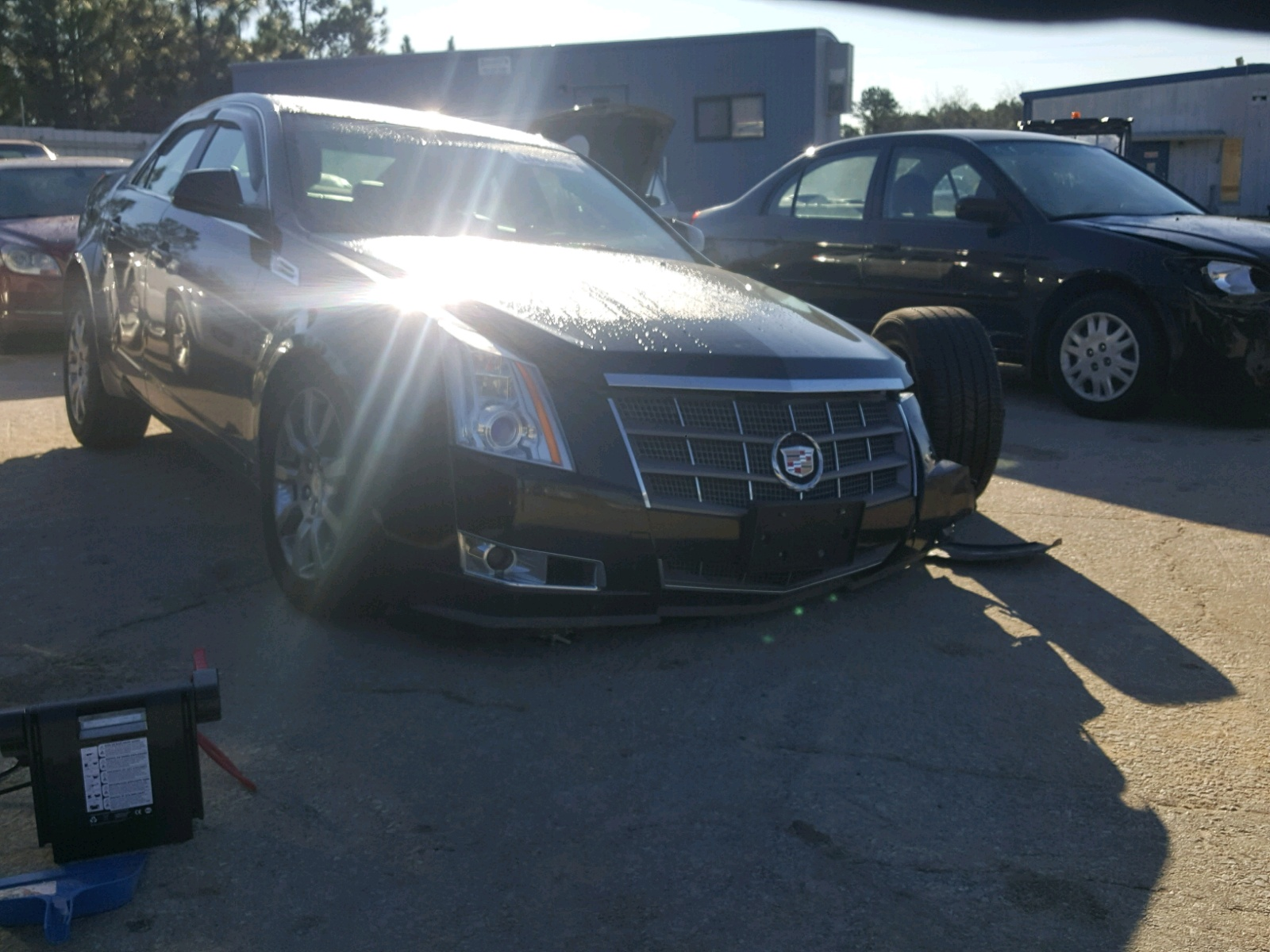 Salvage 2008 Cadillac CTS HI FEA for sale