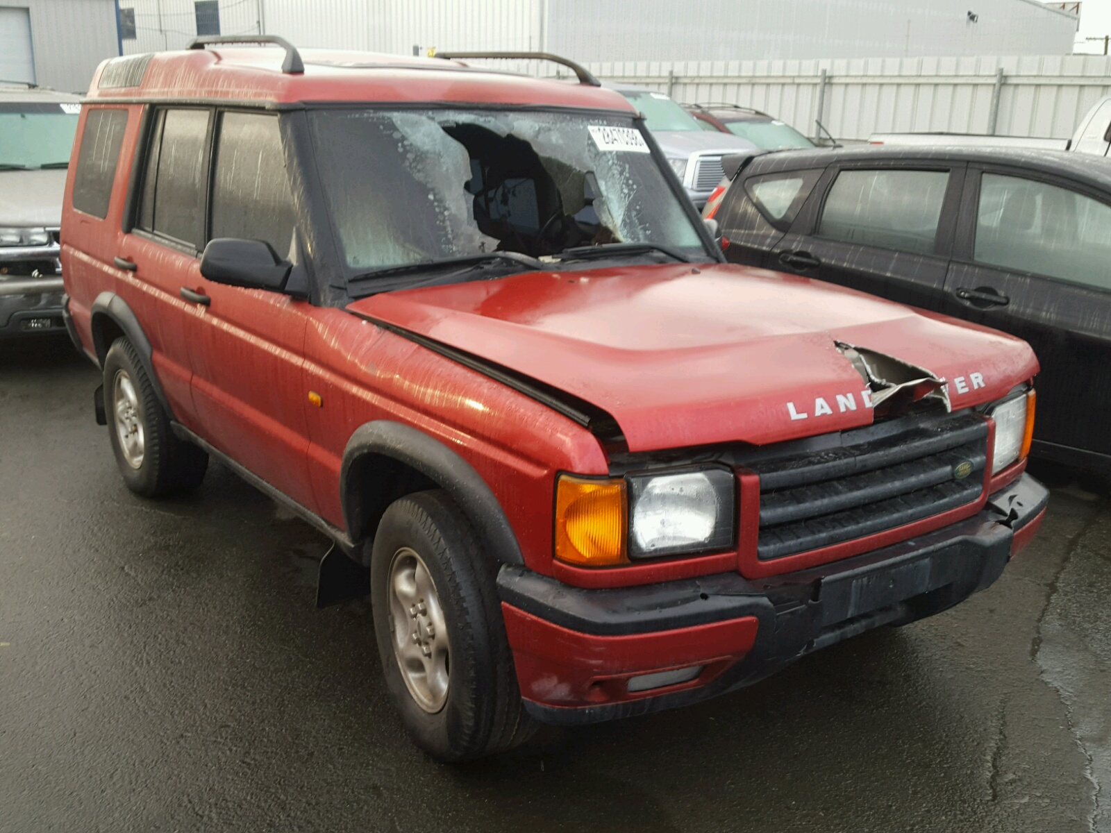 view ca auctions for discovery left en sale burgundy certificate online auto carfinder vallejo land rover salvage lot copart on landrover in