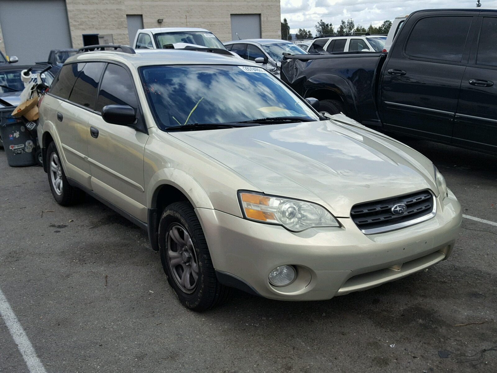 4s4bp63cx74308658 2007 Gray Subaru Legacy Out On Sale In Co Denver Lot 41120117