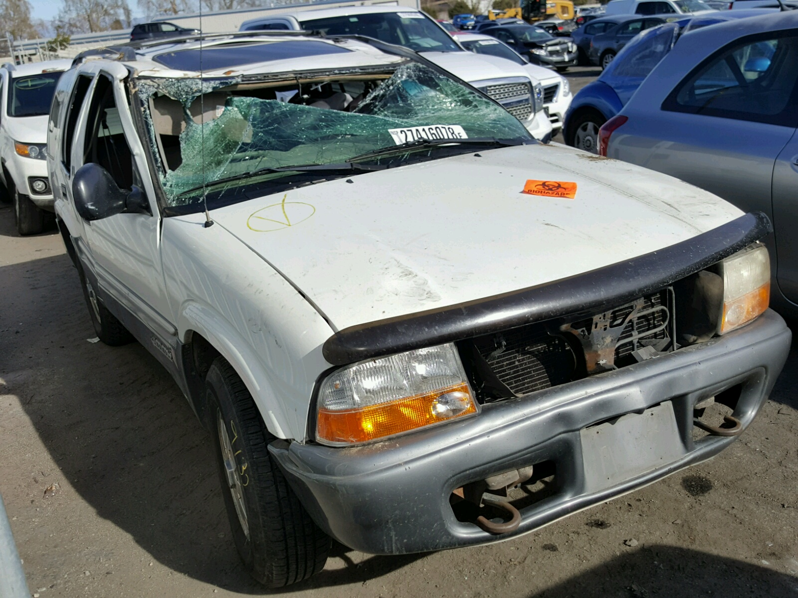 left for lot view title on carfinder nh of in en gmc candia online sale blue cert webster auctions jimmy copart auto salvage