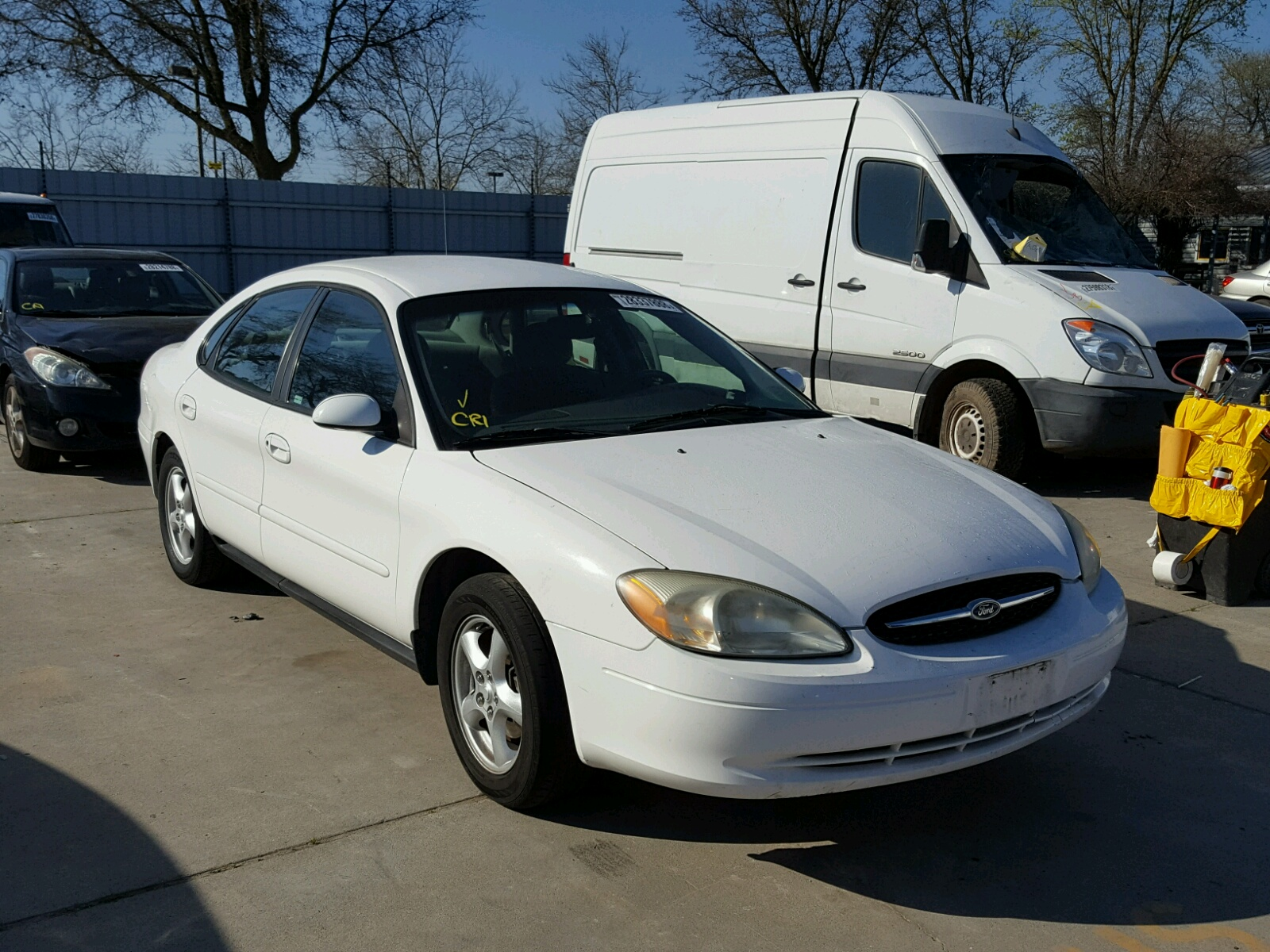 1fafp53u02g205173 2002 Ford Taurus Se 3 0l Left View
