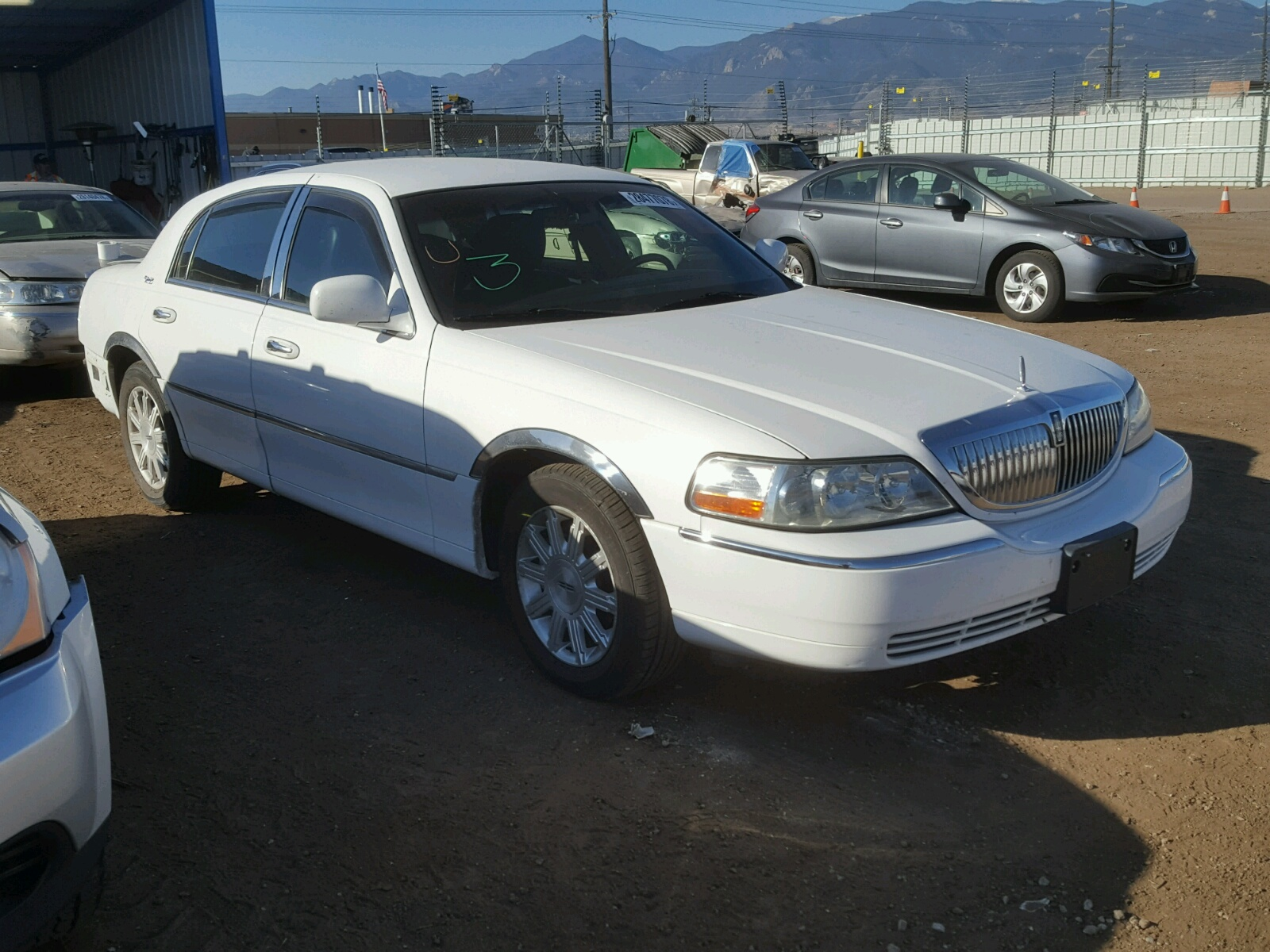 for lincoln lot sale nj copart at town cars glassboro s car