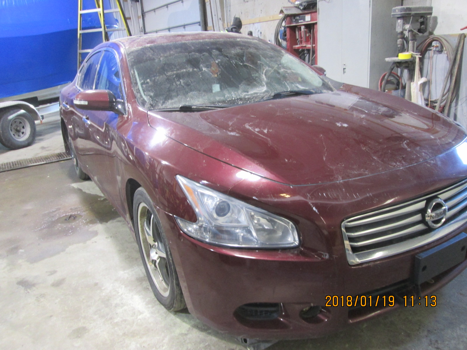 Salvage 2013 Nissan MAXIMA S for sale