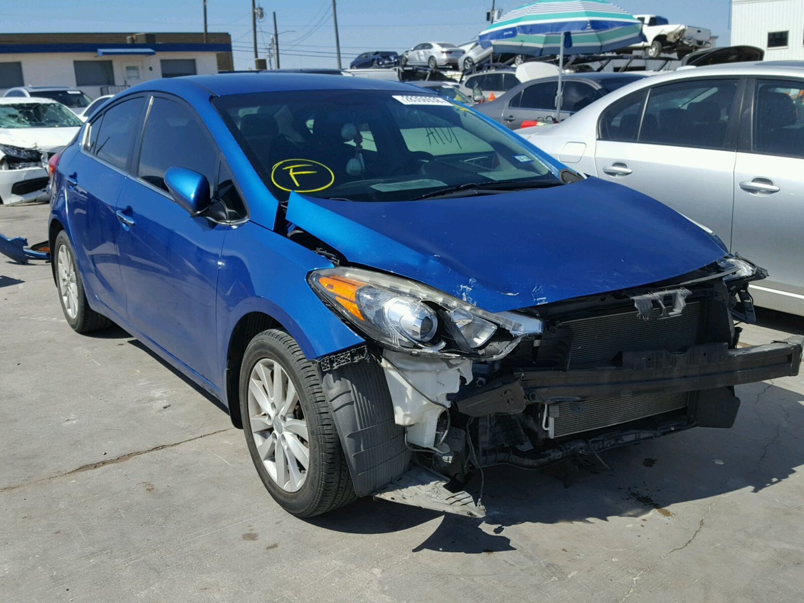 left red tx sale view auctions on carfinder copart auto vehicle kia en spectr title online dallas lot salvage new in