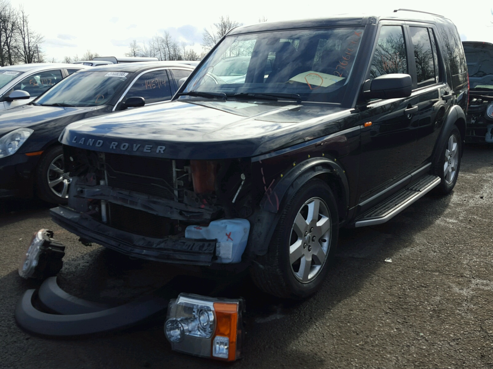 lot west certificate vin for beach fl sale online discovery auction palm land destruction en copart of carfinder hse on landrover auto auctions ended rover