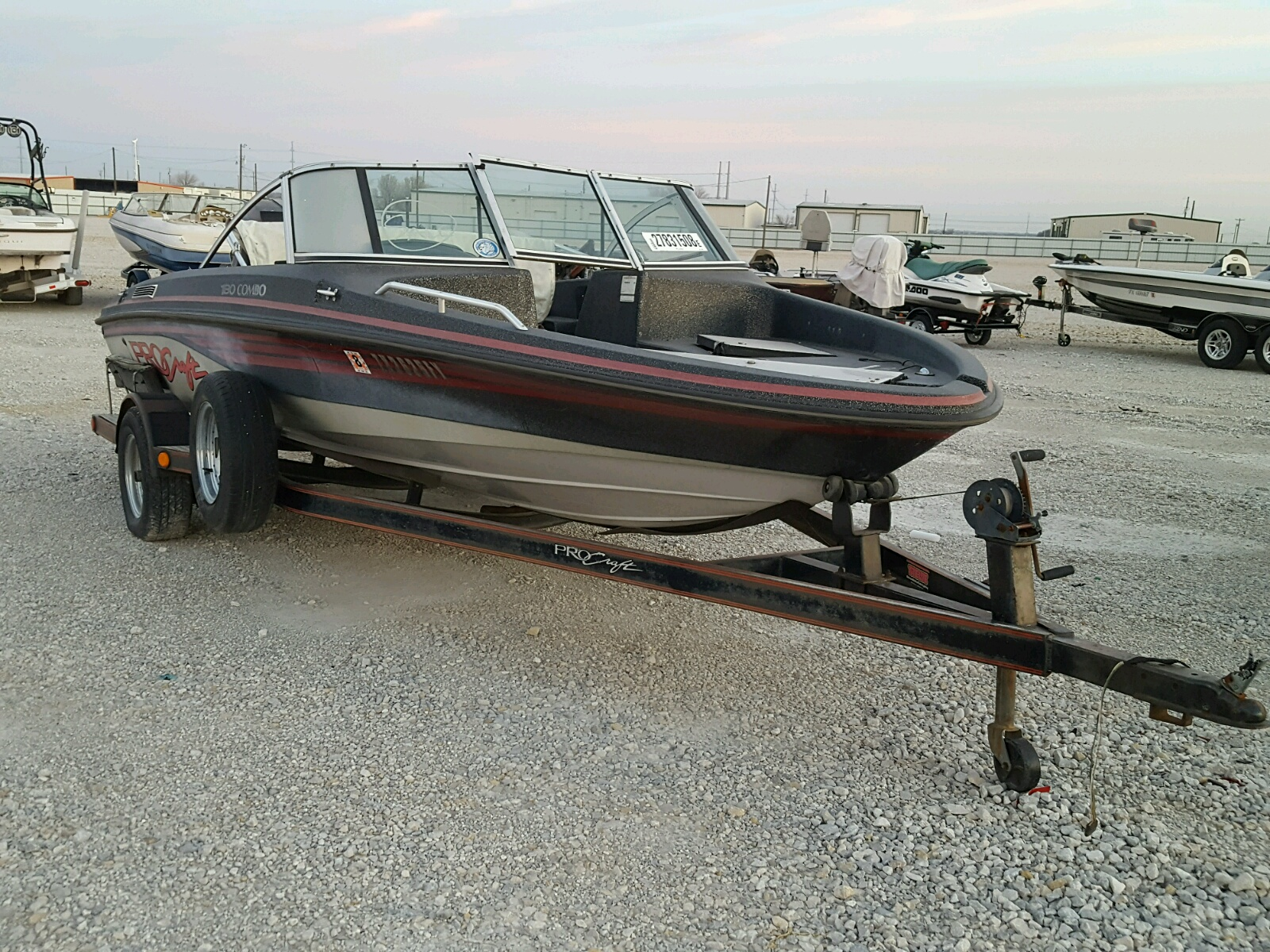 Salvage 1992 Procraft BOAT for sale