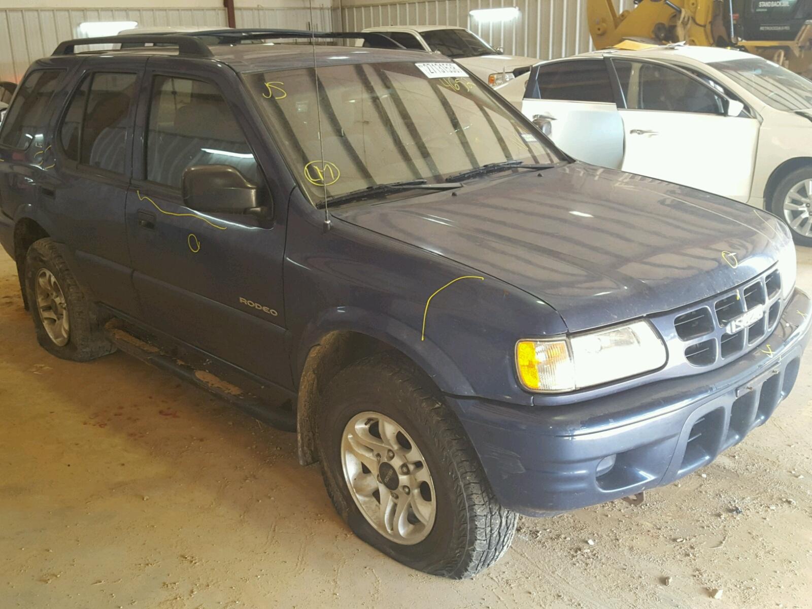 2002 ISUZU RODEO S 3.2L