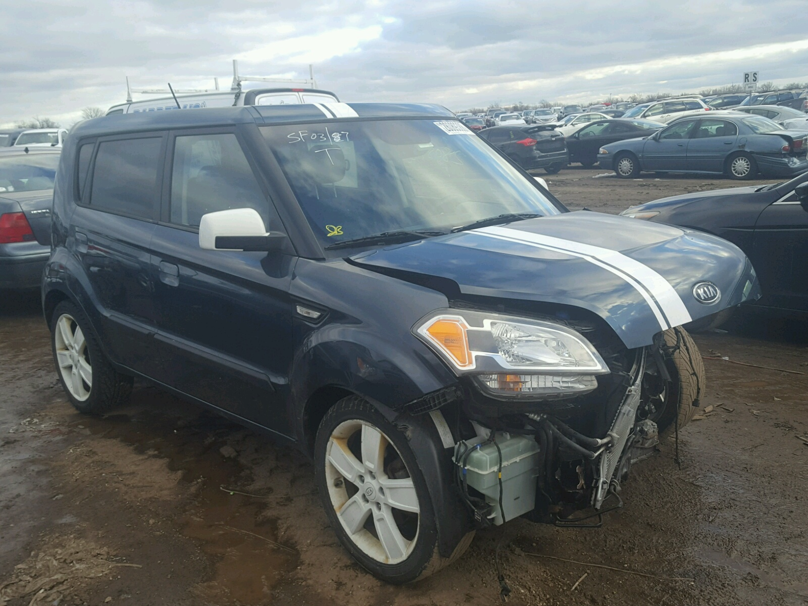 Auto Auction Ended on VIN KNDJT2A25A 2010 KIA SOUL in NC