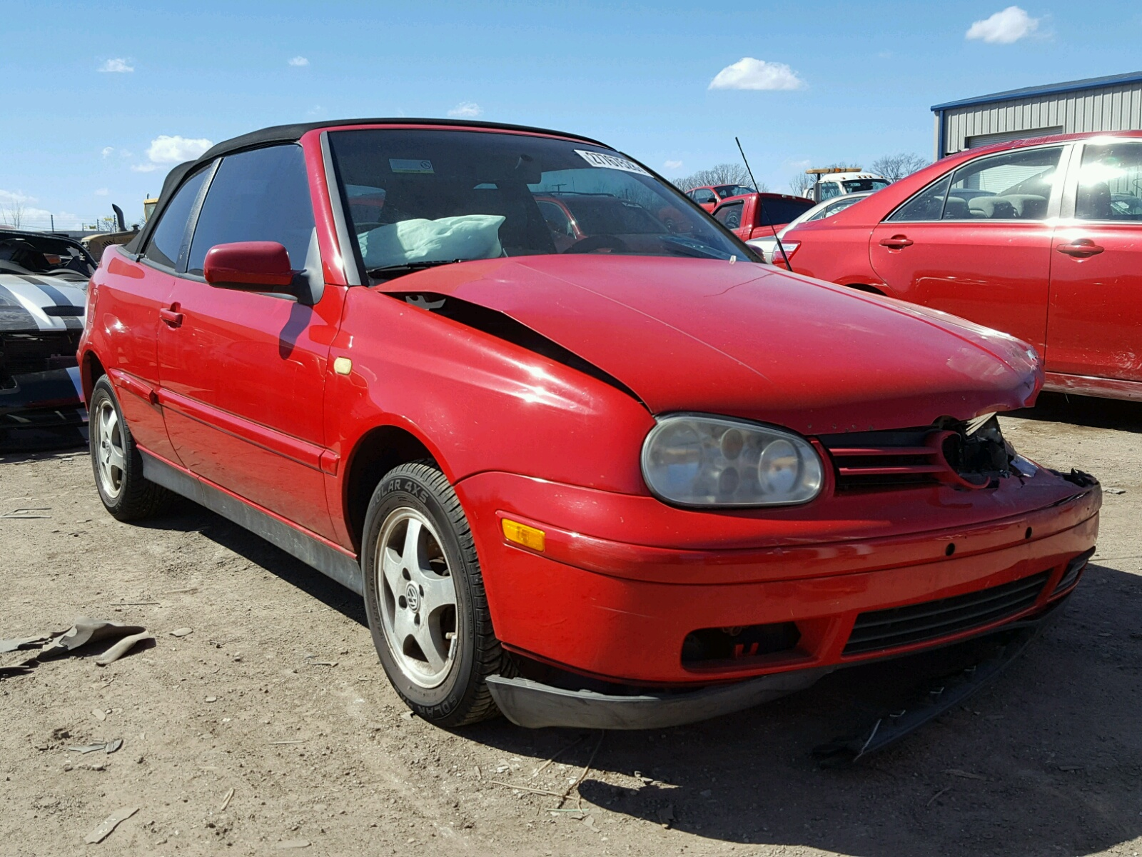 gti faeb lot ky louisville volkswagen sale s copart at cars for