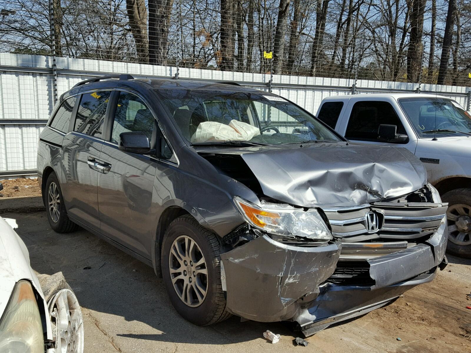 Auto Auction Ended On Vin 5fnrl5h4xcb059274 2012 Honda Odyssey Ex 1970 Atv 35l Left View