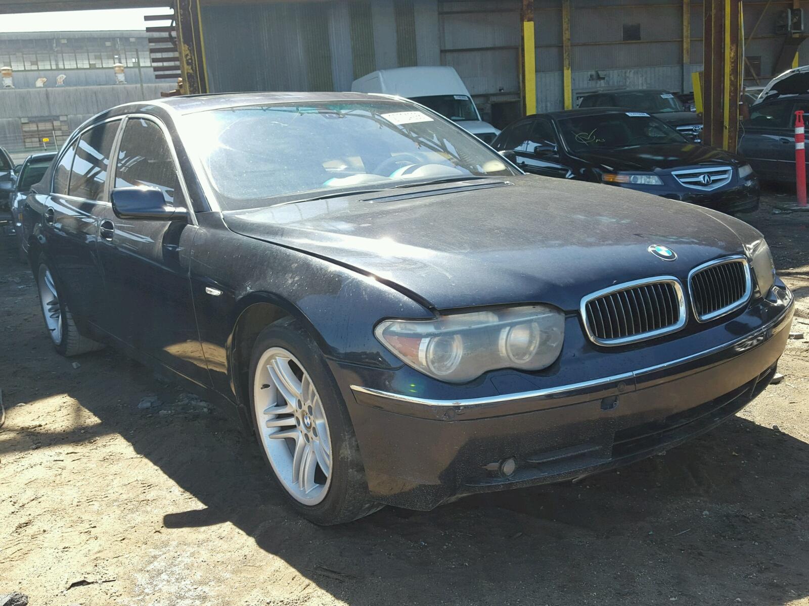 Salvaged BMW SERIES For Auction AutoBidMaster - 745 bmw 2010