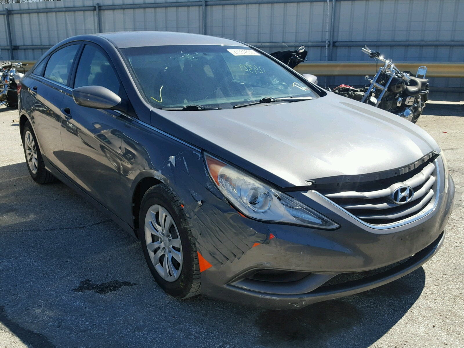 auto copart black hyundai certificate online lot auctions left title of sc en gls in sale view on greer accent carfinder