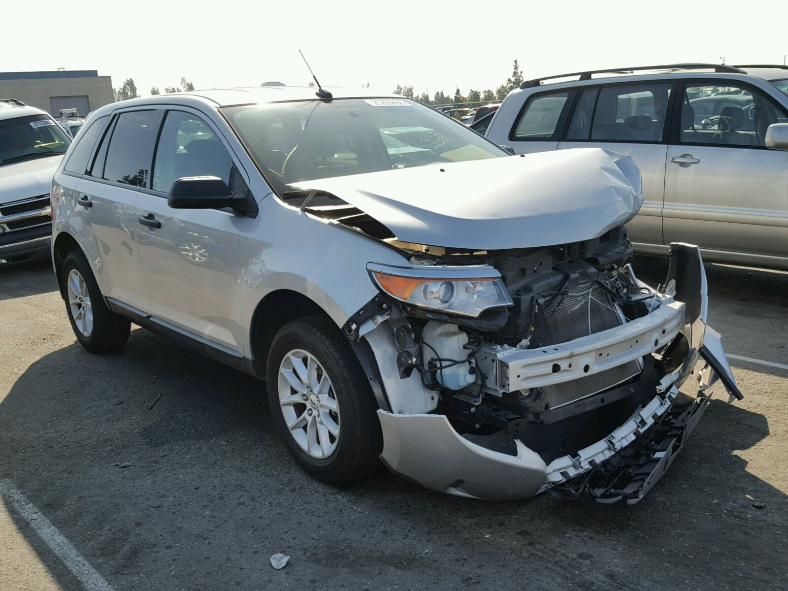 Auto Auction Ended On Vin 1ftpw145x4kd35916 2004 Ford F150 In Co F 150 Sport 2014 Edge Se 35l