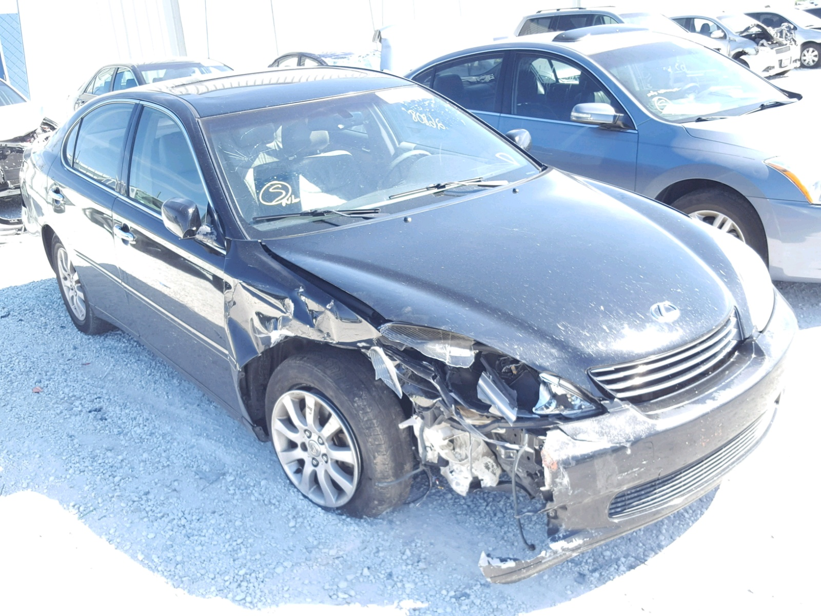 Auto Auction Ended on VIN JTHBD 2001 LEXUS IS in TX