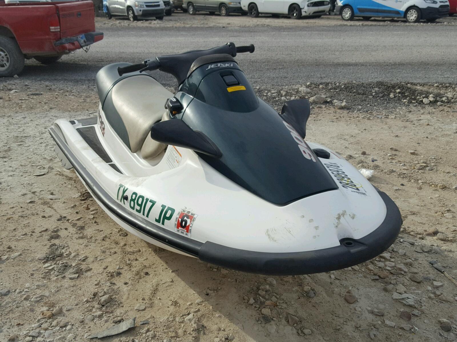 Salvage 2000 Kawasaki JETSKI for sale