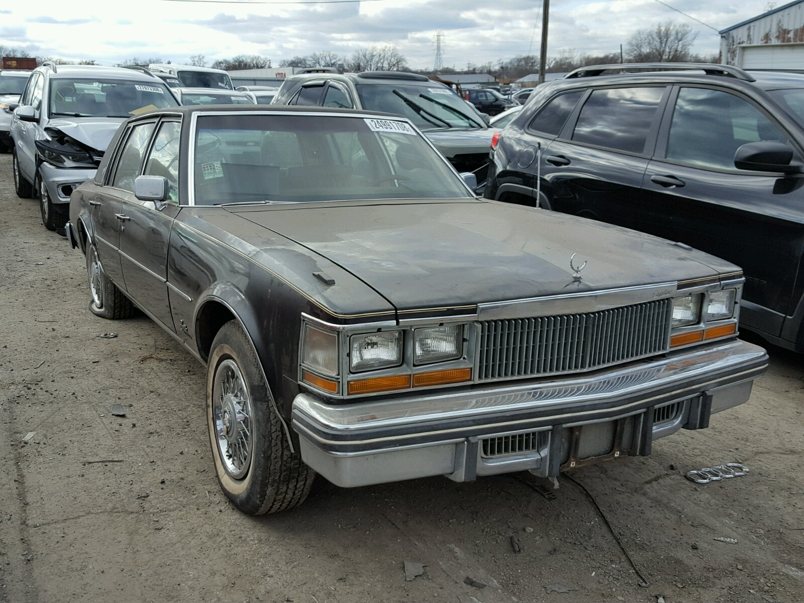 Salvage 1977 Cadillac SEVILLE for sale