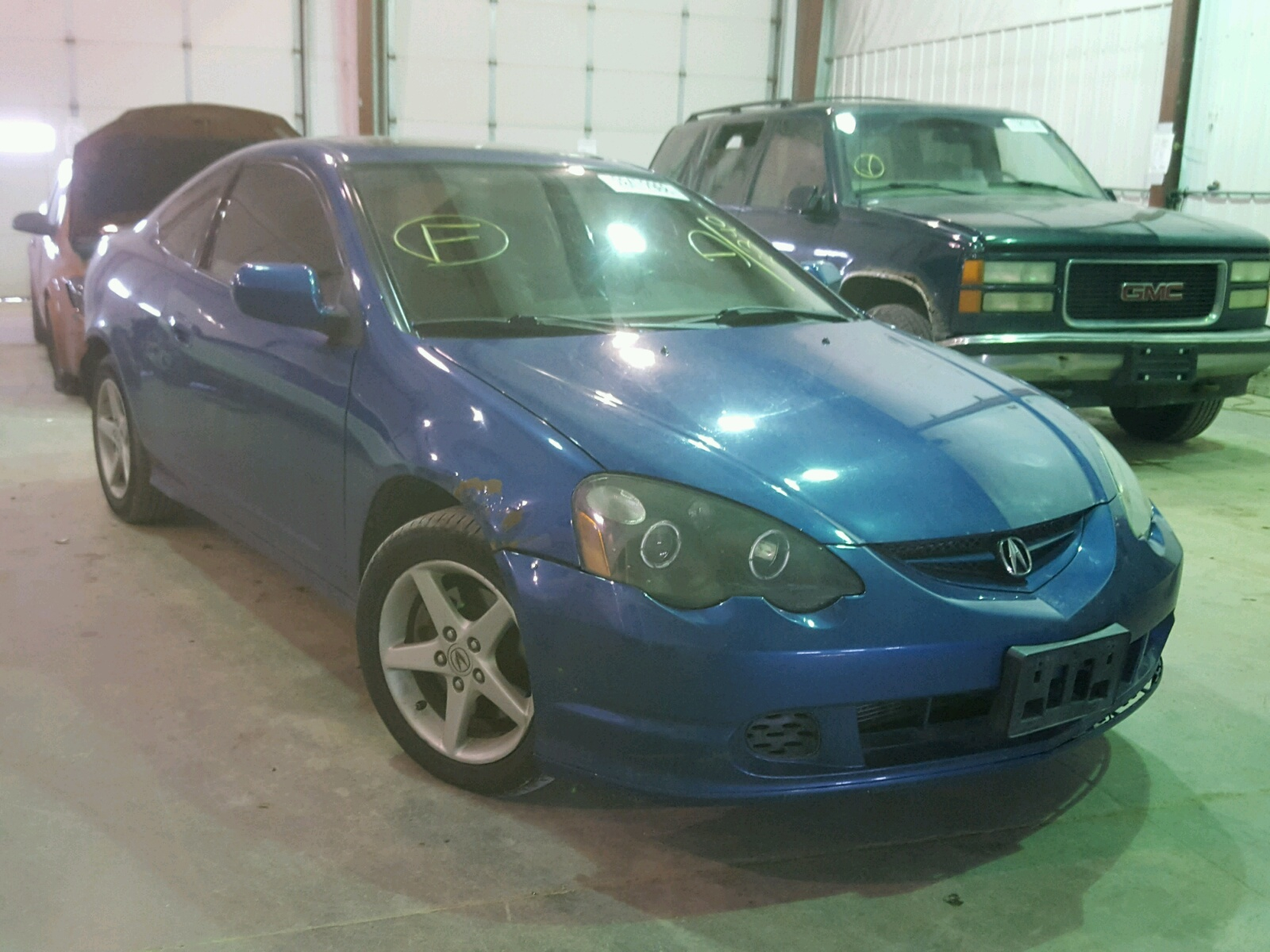 at sale acura lot copart mn for type s lake ham cars rsx