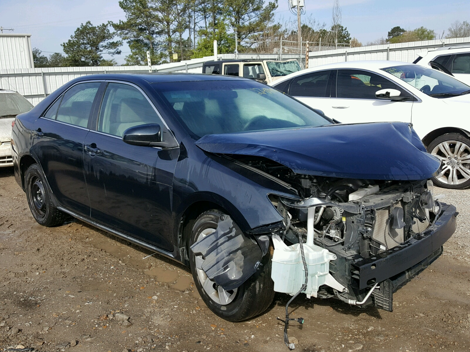 2013 Toyota Camry L for sale at Copart Florence MS Lot
