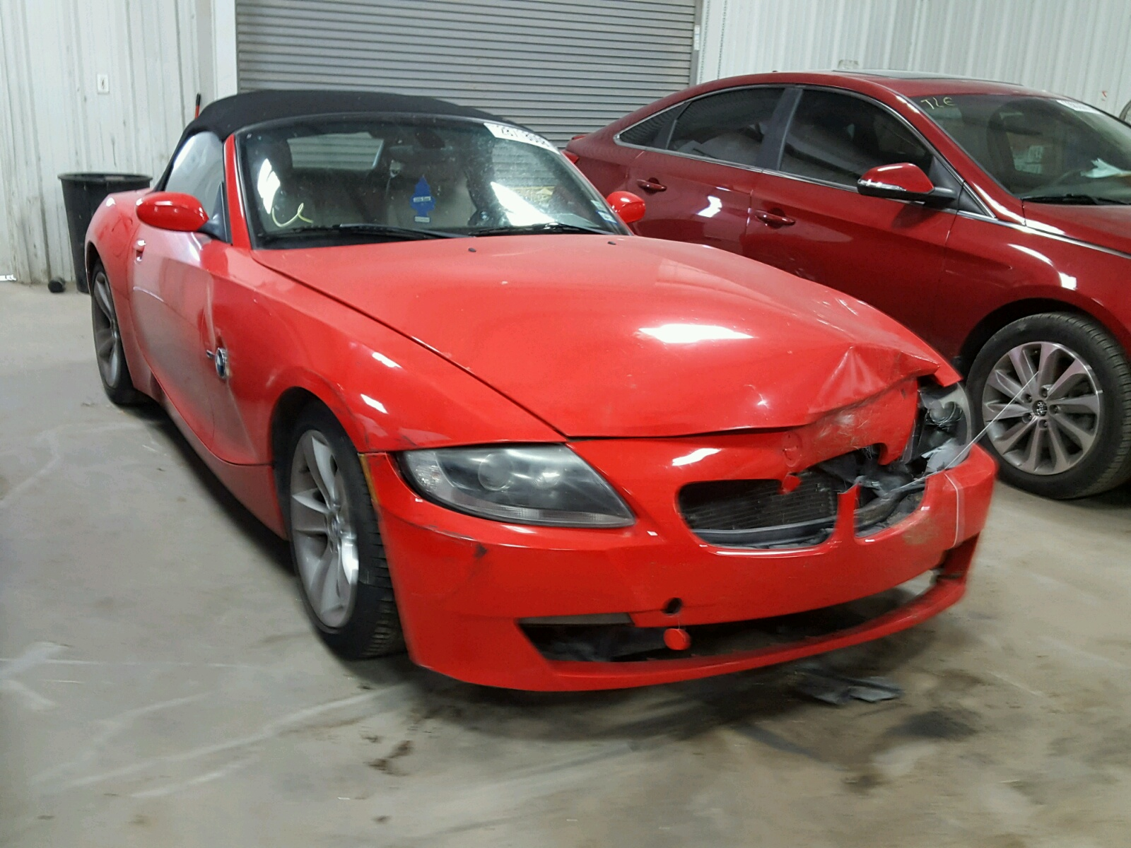 Salvage 2006 BMW Z4 3.0 for sale