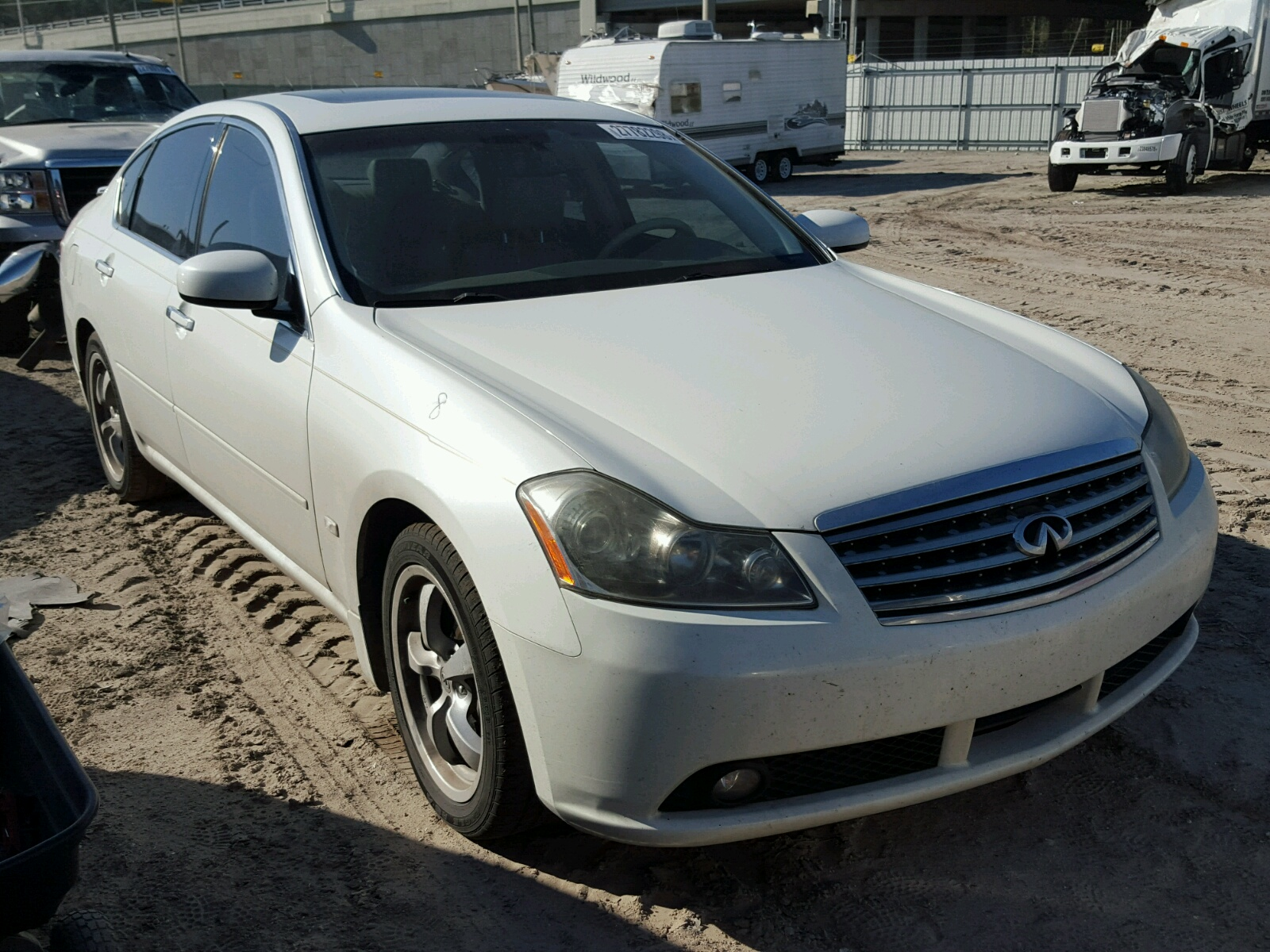 copart salvage base carfinder in sale cert auctions left infiniti tanner of view gray en title lot on infinity online auto al for