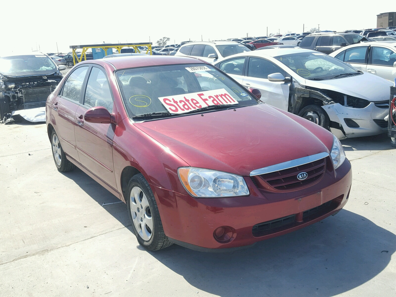 auctions carfinder copart dallas title tx on sale kia optima auto vehicle online lot lx salvage gray left view en in