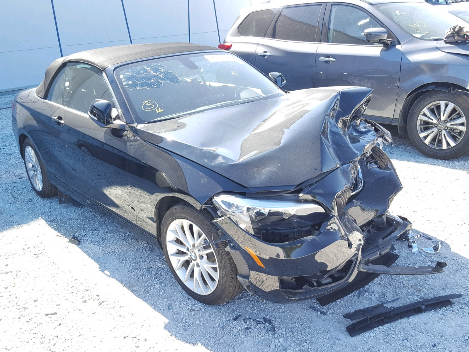 Auto Auction Ended On Vin Wba1l9c53gv324321 2016 Bmw 228 In Tx Houston