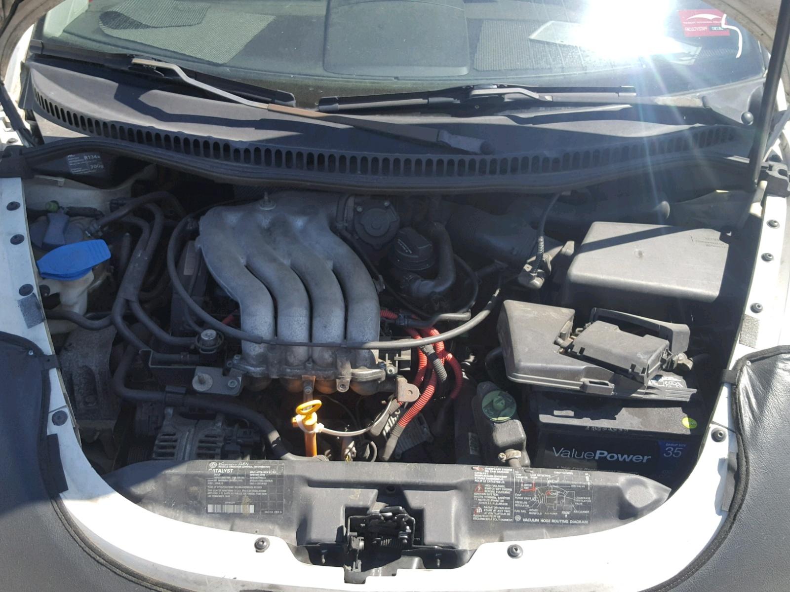 3vwca21c5xm414877 1999 White Volkswagen New Beetle On Sale In Sc 1936 Engine Diagram 20l Inside View