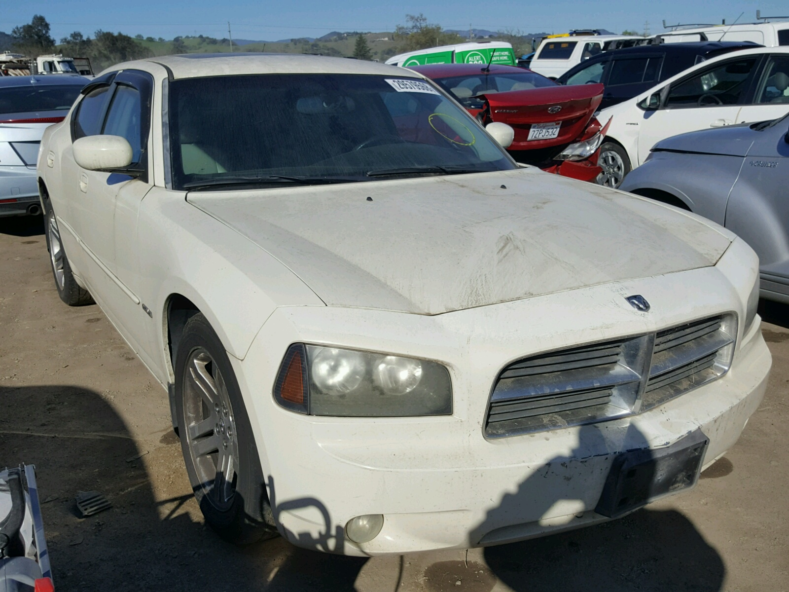 2b3ka53hx6h166357 2006 white dodge charger r on sale in ca san 2b3ka53hx6h166357 2006 dodge charger r 57l left view publicscrutiny Images