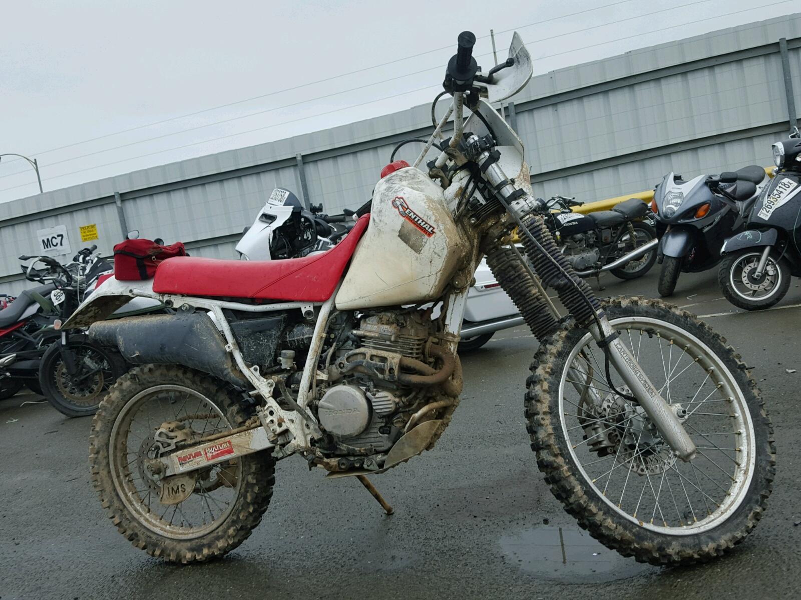 1995 HONDA XR250 R