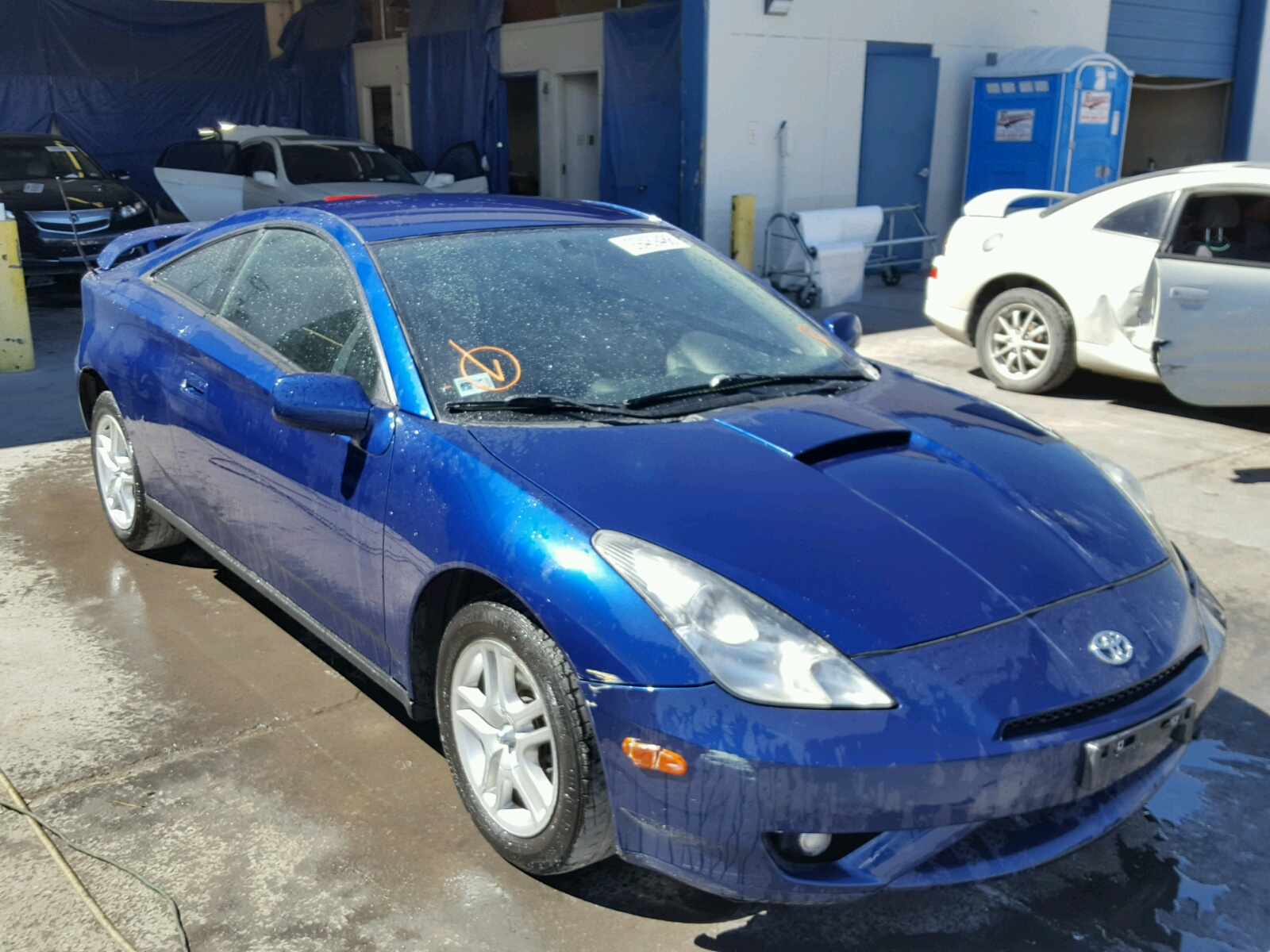 Auto Auction Ended on VIN JTDDR32T 2005 TOYOTA CELICA GT