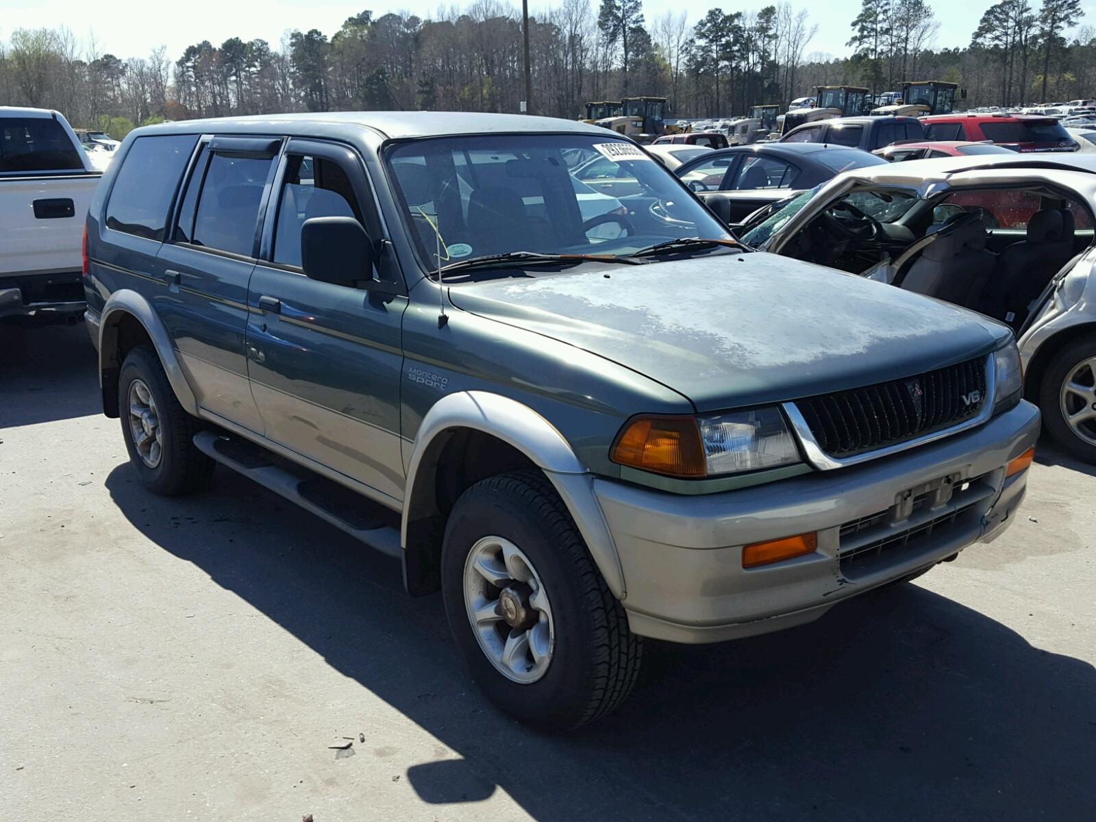 Salvage 1998 Mitsubishi MONTERO SP for sale