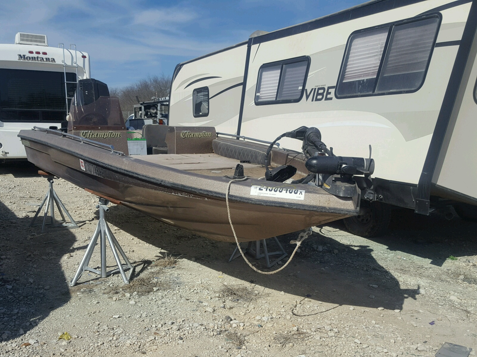 Salvage 1994 Chapparal MARINE LOT for sale