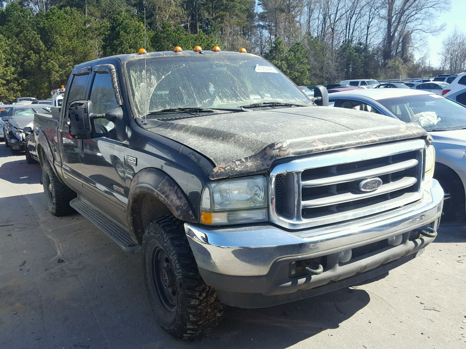 2004 Ford F250 Super Minor Dent Scratches Damage Duty 1