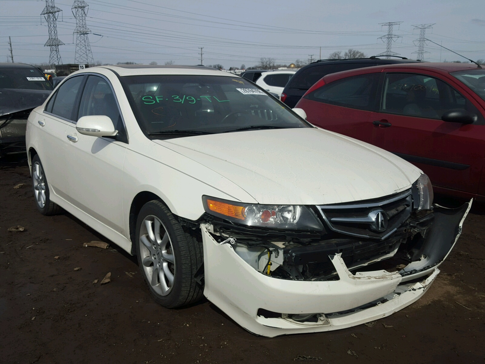 auctions co on denver tsx salvage online title vin ended in sale view left en south lot auto acura carfinder copart auction for