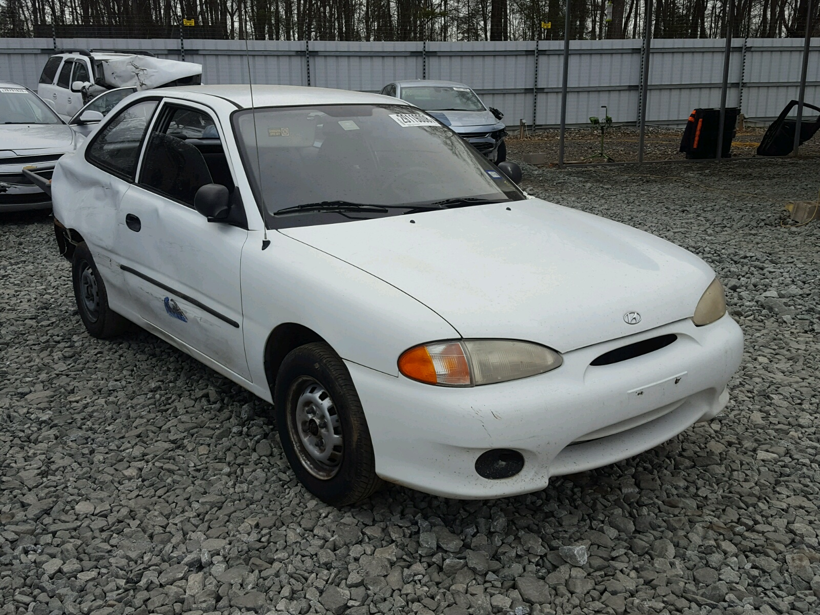 en sale of on l in view sc auctions copart carfinder title auto lot online salvage accent inside greer hyundai cert white