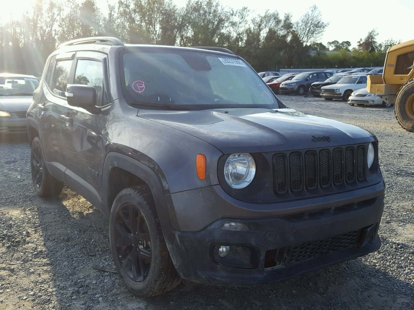 Car Lots In Memphis Tn >> Auto Auction Ended on VIN: ZACCJAAT6GPE19497 2016 JEEP RENEGADE S in TN - MEMPHIS