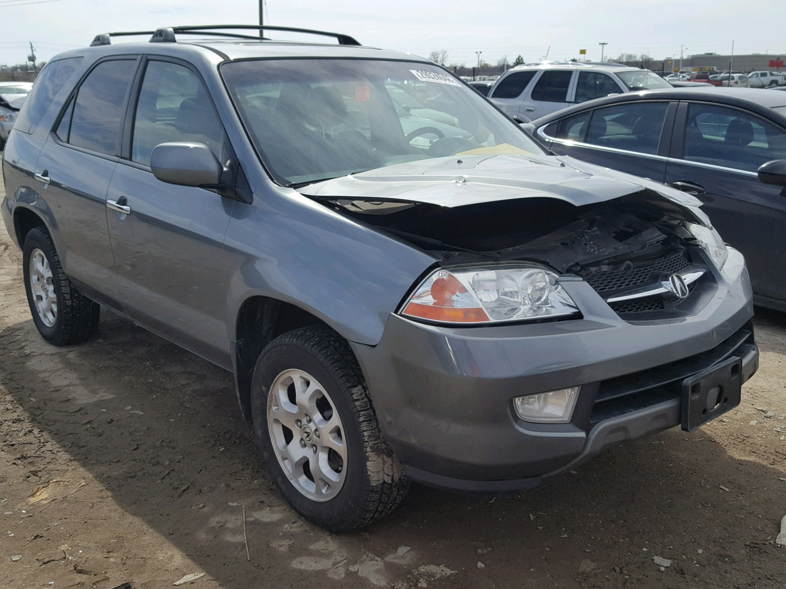 HNYDH GRAY ACURA MDX TOURIN On Sale In IN - Acura mdx 2001 for sale