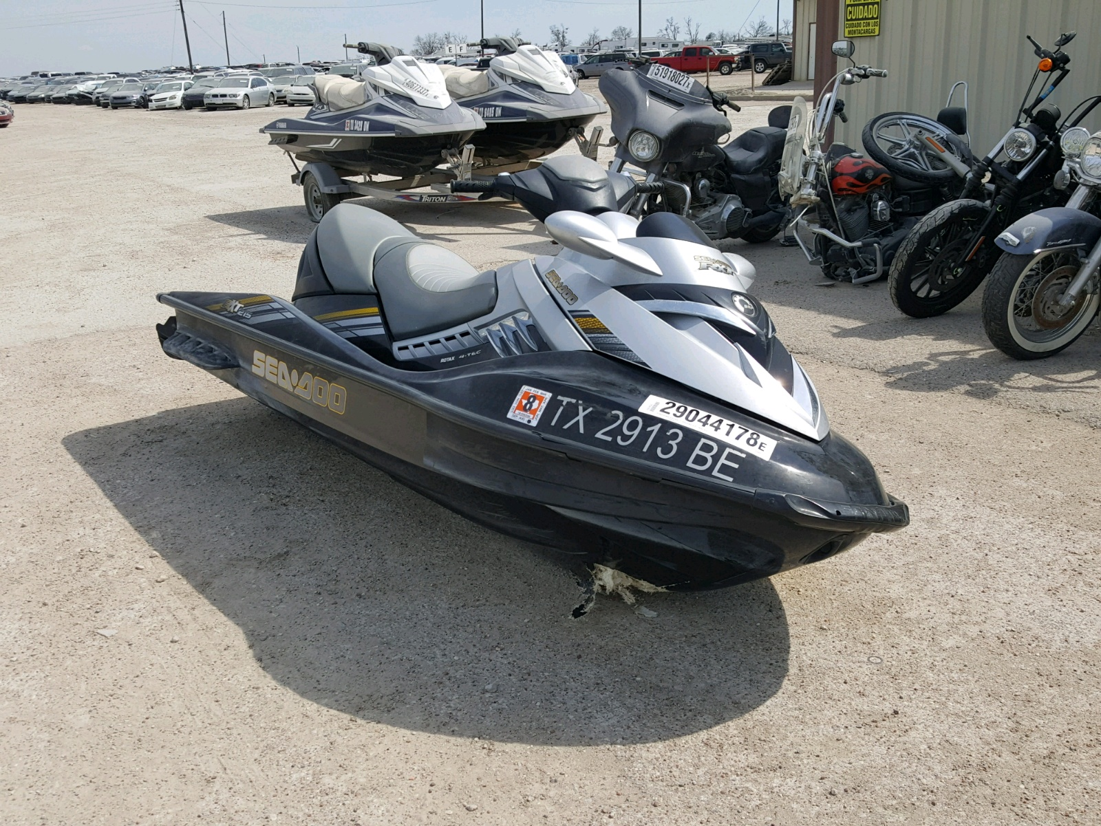 Salvage 2009 Seadoo RXP for sale