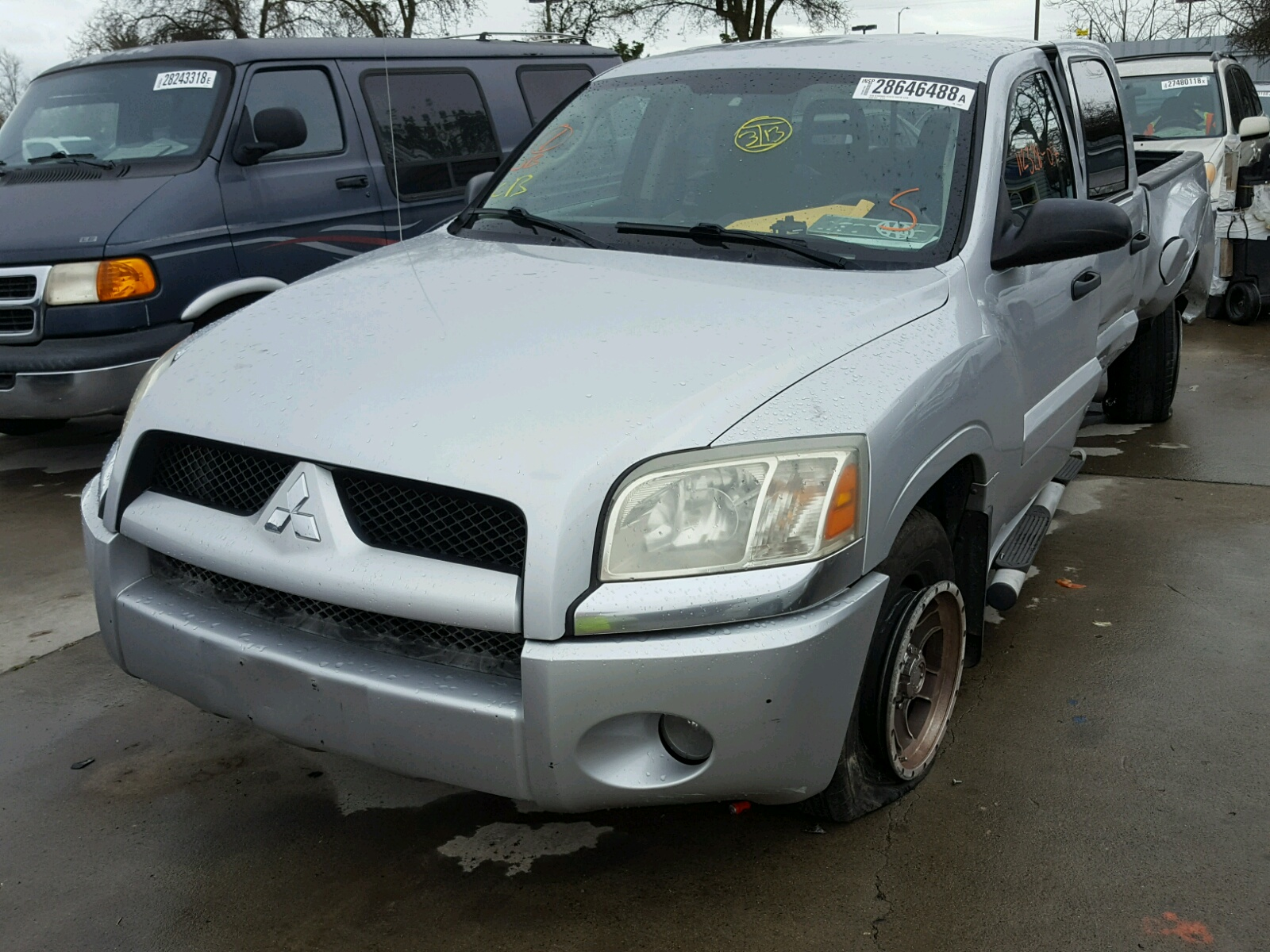 view cert salvage angle copart sale lot raider on for auctions mitsubishi dur en hammond title red carfinder auto online of in