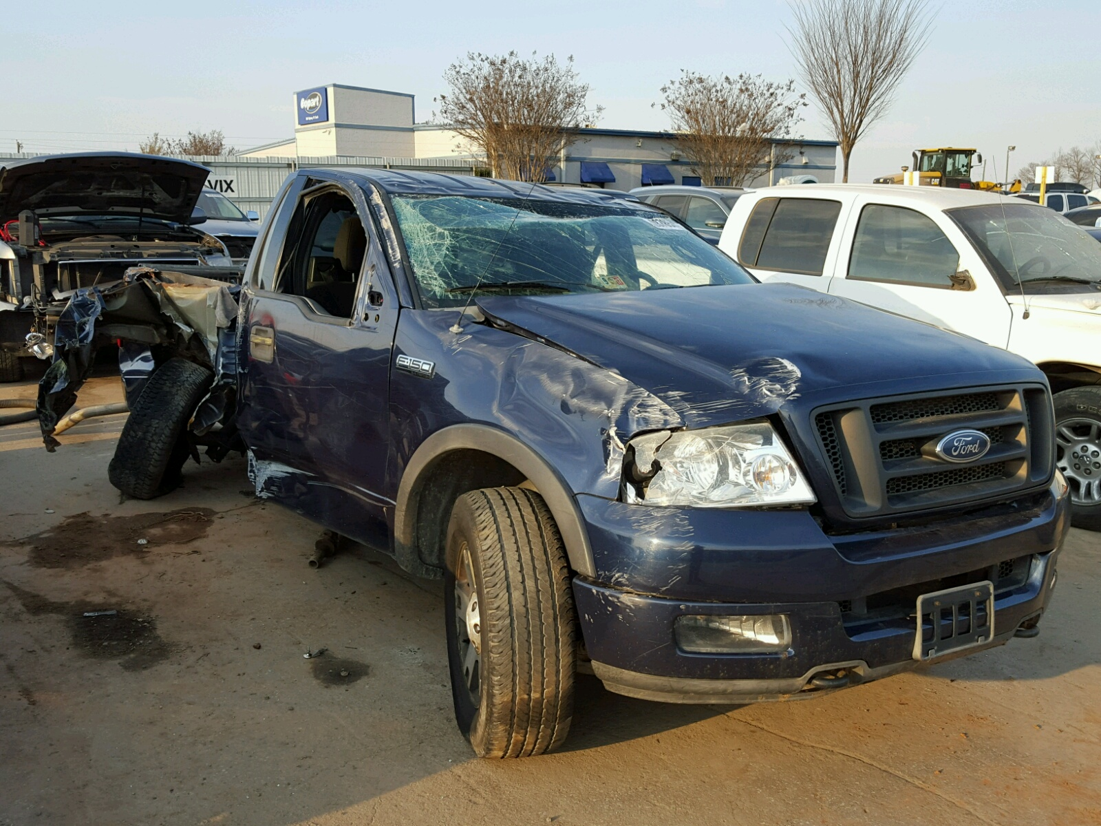 1FTRF NC 2004 BLUE FORD F150 on Sale in SC GREER